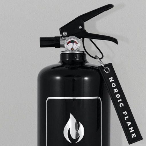 Feuerlöscher Classic Black von Nordic Flame