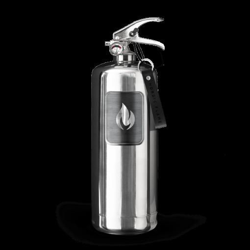 Feuerlöscher in Edelstahl von Nordic Flame