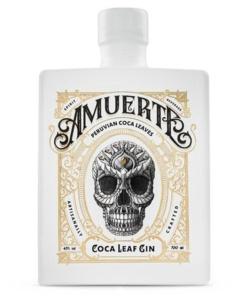 Amuerte weiss Coca Leaf Gin