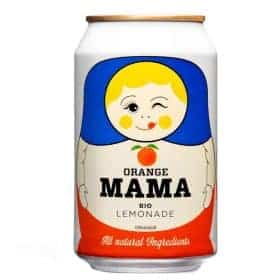 Orange Mama Bio Limonade von Herbal Moscow