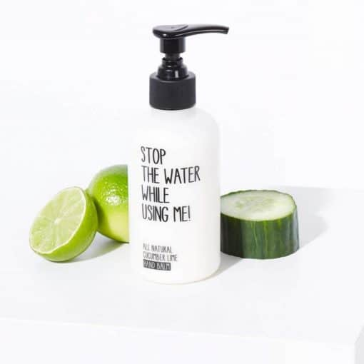 Hand Balm Cucumber Lime von Stop the water while using me