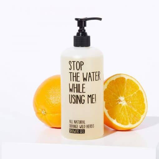 Shower Gel Orange Wild Herbs von Stop the water while using me