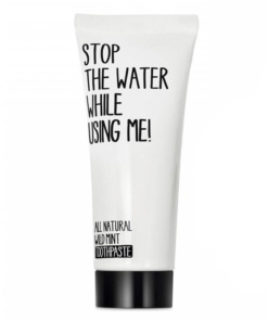 Zahnpasta von Stop the water while using me