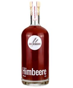 Fruchtlikör Himbeere von der Brennerei Dieckmann