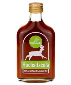 Kräuterlikör Hochsitzcola von der Brennerei Dieckmann
