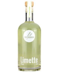 Fruchtlikör Limette von der Brennerei Dieckmann