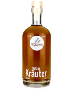 milder Kräuterschnaps von der Brennerei Dieckmann