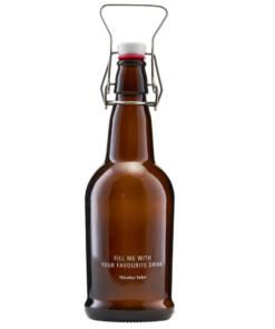 braune Retroflasche von Nicolas Vahe