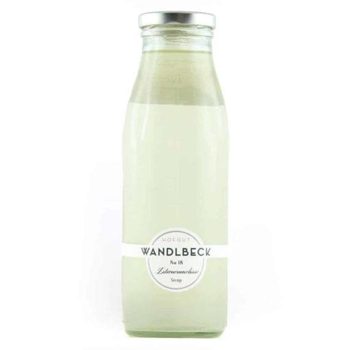 Sirup Zitronenmelisse von Wandlbeck