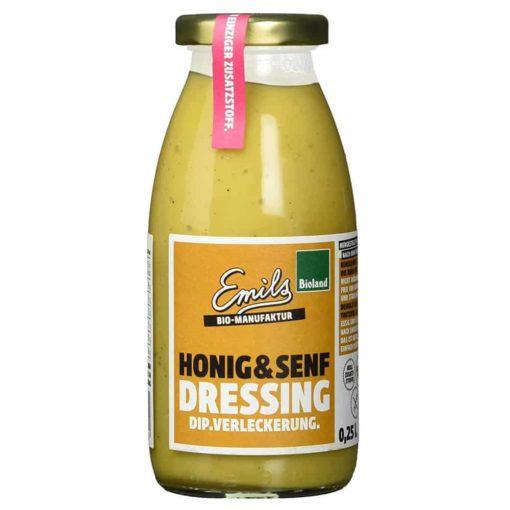 Honig Senf Dressing von emils Bio Manufaktur
