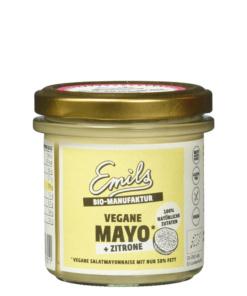 vegane Mayo mit Zitrone von emils Bio Manufaktur