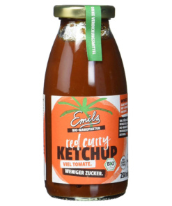 Red Curry Ketchup von emils Bio Manufaktur