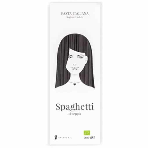 Good Hair Day Pasta Spaghetti al seppia von Greenomic