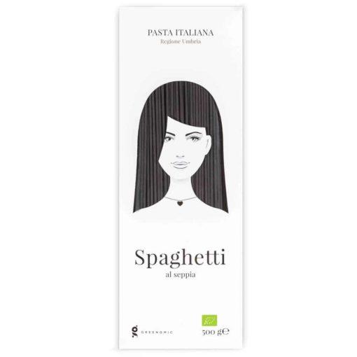 Good Hair Day Pasta Spaghetti al seppia von Greenomic