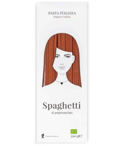 Good Hair Day Pasta Spaghetti al peperoncino von Greenomic