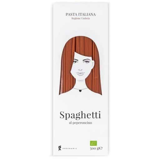 Good Hair Day Pasta Spaghetti al peperoncino von Greenomic