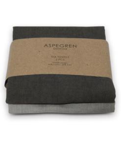 Geschirrtuch solid grey von aspegren