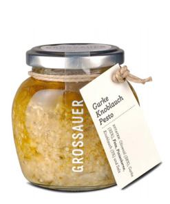Gurke-Knoblauch-Pesto von Grossauer