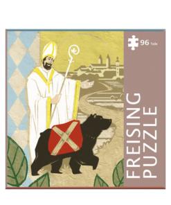 Puzzle Heiliger Korbinian mit Freisinger Bär von Hinterland