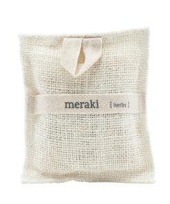 Bath mitt herbs von Meraki