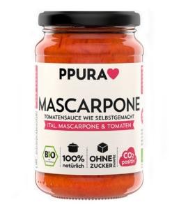 Mascarpone Tomatensauce mit italienischer Mascarpone und Tomaten von Ppura