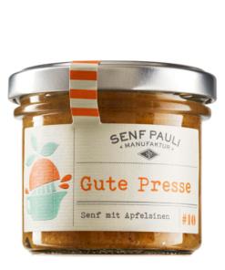 Senf Gute Presse von Senf Pauli