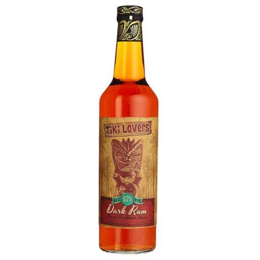 Dark Rum von Tiki Lovers aus der Karibik