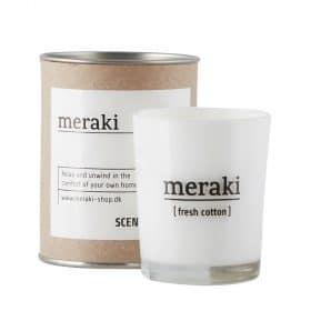 Duftkerze fresh cotton von Meraki