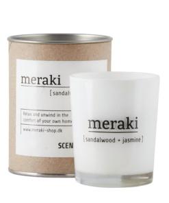 Duftkerze sandalwood jasmine von Meraki