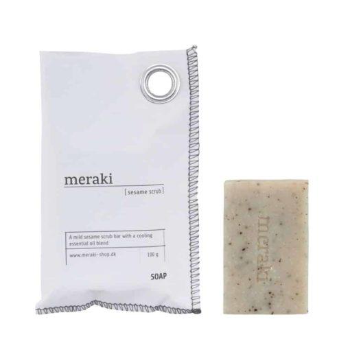 Seife sesame scrub von Meraki