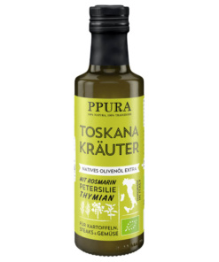 Olivenöl Toskanakräuter von Ppura