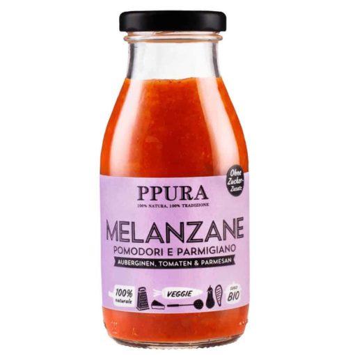 veganes Sugo Melanzane von Ppura