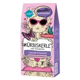 geröstete Kürbiskerne mit Lavendel und Karamell von Ravellis