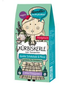 geröstete Kürbiskerne mit Schokolade und Minze von Ravellis