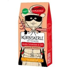 geröstete Kürbiskerne mit Schokolade und Chili von Ravellis