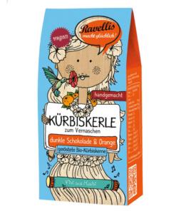 geröstete Kürbiskerne mit Schokolade und Orange von Ravellis