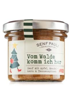 Vom Walde komm ich her Senf mit Apfel, Mandelkern und Tannenspitzen von Senf Pauli