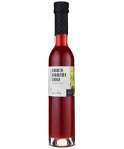 Erdbeer-Rhabarber Crema mit Fruchtmus von Wajos
