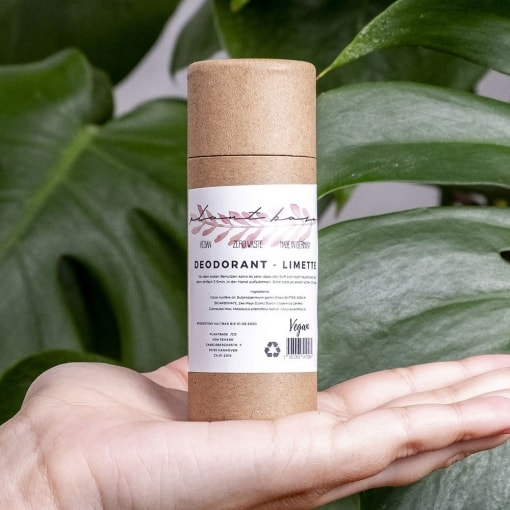 Deodorant Limette von Plantbase