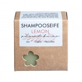 Shampoo-Seife Lemon von Plantbase