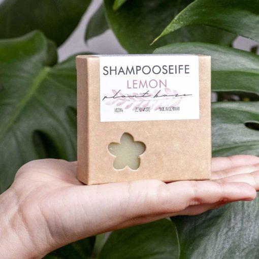 Shampoo-Seife Lemon von Plantbase