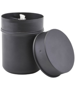 Oil lamp, Haze, Black, 1150 ml
