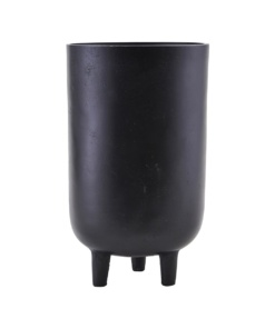 Planter, Jang, Black oxidized, Indoor use