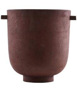 Jar, Foem, Burned red