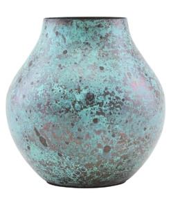 Vase, Kojo, Turquoise