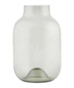 Vase, Shaped, Grey