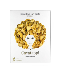 Cavatappi grandi bronzo, Italienische Good Hair Day Pasta von Greenomic