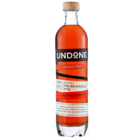 Not Red Vermouth Italian Aperitif alkoholfrei von Undone