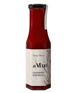 aMust Sauce Cranberry Portwein von Wajos
